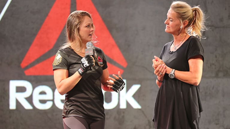 Reebok Unveils UFC Apparel Line, and Ronda Rousey Couldn't Be Happier