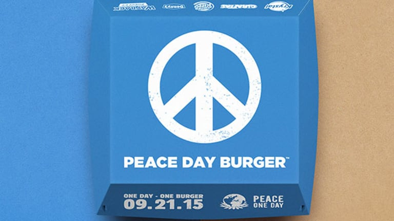 Burger King Prepared to Kick McDonald's to the Curb with New Peace Burger Partners