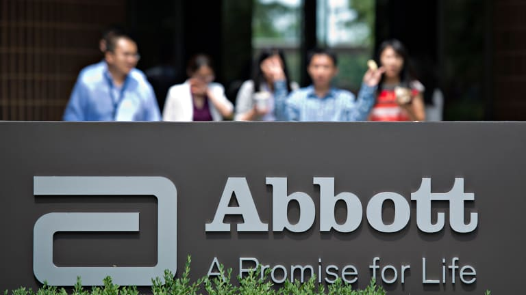 Abbott (ABT) Stock Rising Ahead of Earnings Results