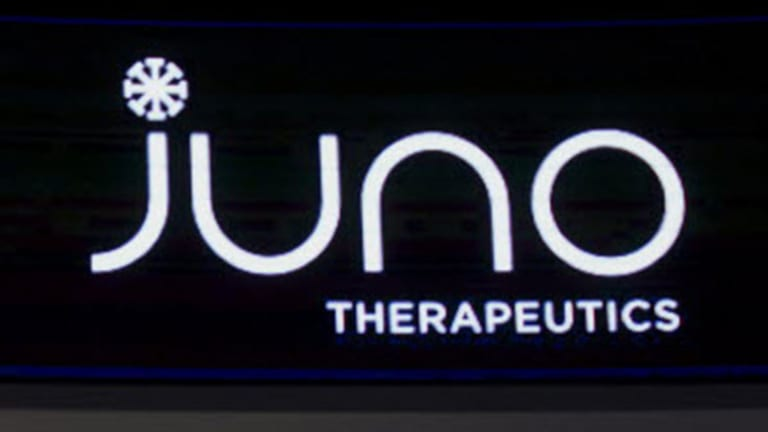 Here's a Reason Why Juno Therapeutics (JUNO) Stock Is Surging Today