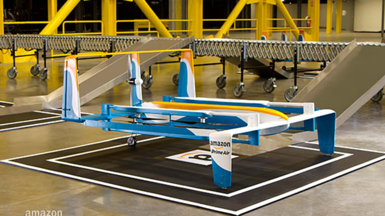Amazon Previews Latest Drone Design in Eye-Catching Video
