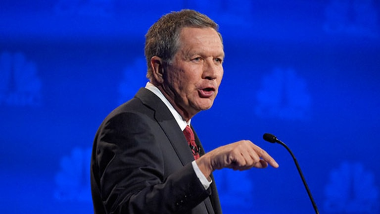 Kasich Enraged at 'Fantasy' Tax Plans of Competitors at #GOPDebate