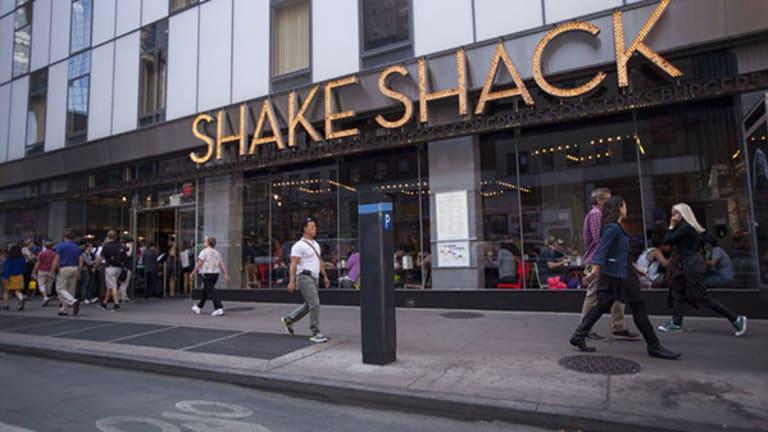 Jim Cramer -- Shake Shack Going Through 'Gigantic' Short Squeeze