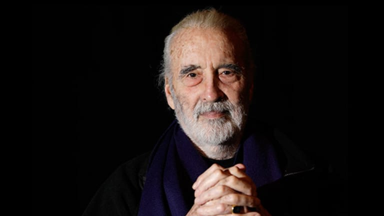 9 Christopher Lee Quotes about 'Star Wars,' 'Lord of the Rings,' Acting, Business and Life