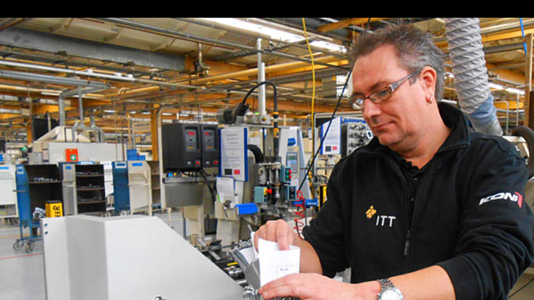 For Manufacturer ITT, It Is Time to Put Its Balance Sheet to Work