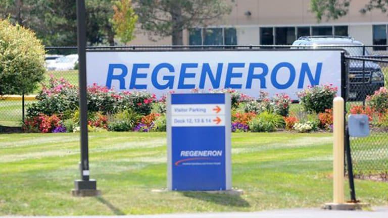 Biotech Movers: Regeneron Slides Back After Big Gains
