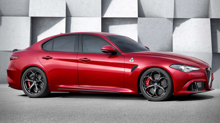 Fiat Chrysler Unveils New Alfa Romeo Sedan as It Spruces Up for Possible Merger