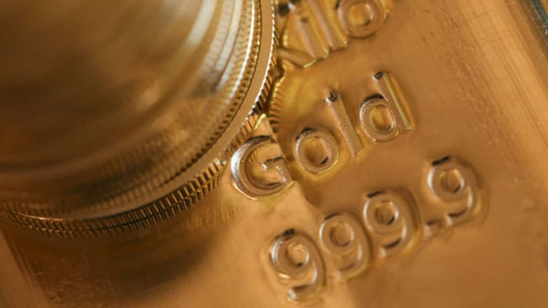 Gold Prices Sink on Global Economic Concerns (Update 1)