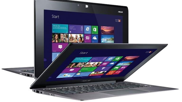 Asus Unveils New Windows 8 Computers