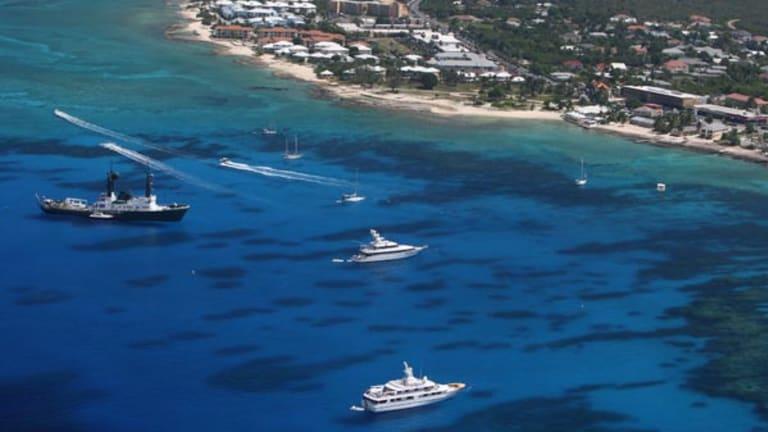 Invade the Cayman Islands!