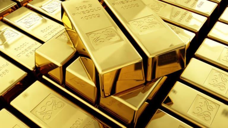 Gold Pops as Equities Slide (Update 1)