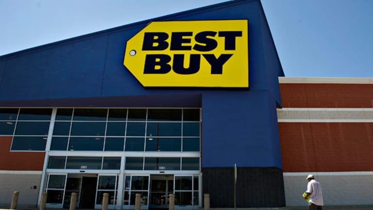 Best Buy, Gamestop Shares Biggest Losers After Earnings