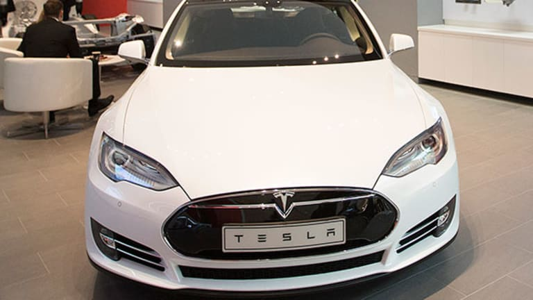 Tesla's Wild Ride Drives Shares Lower