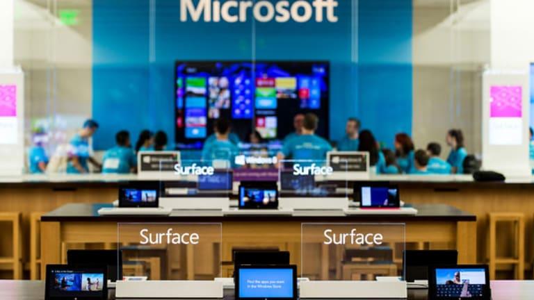 Microsoft Soars on Steve Ballmer Retirement News