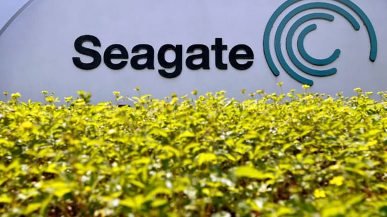 Seagate Shares Slide on Q1 Miss (Update 1)