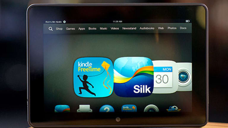 Amazon Cuts Kindle Fire Prices for Cyber Monday