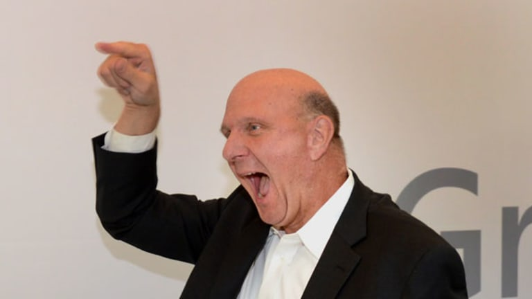 The Story That Took Steve Ballmer Down (Insert Emoticon Here)