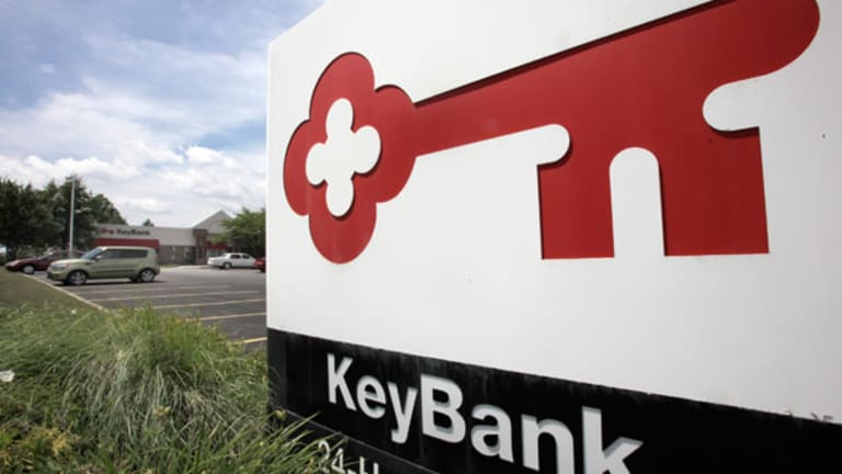 KeyCorp's Shares Rise as Bank Cuts Costs
