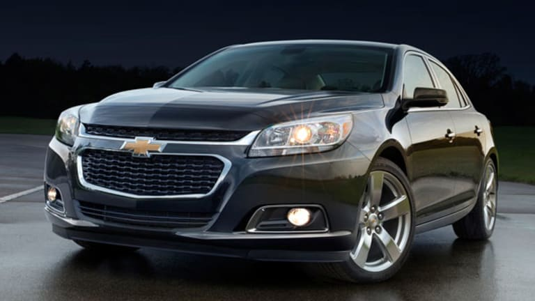 Take a Look at the 2014 Malibu, Unveiled Friday