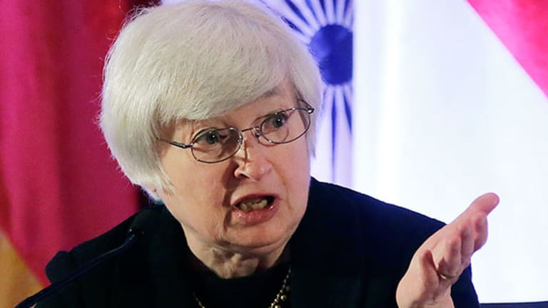 Fed's Yellen More Concerned About Inflation Running Below 2% Target
