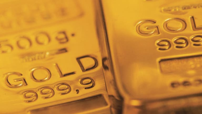 Gold Prices Slide Below $1,600 on Book Squaring (Update 1)