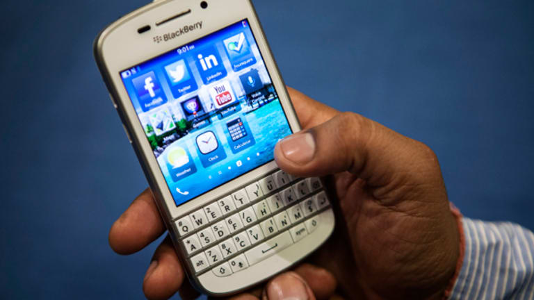 Short BlackBerry to $6, Buy Peanuts
