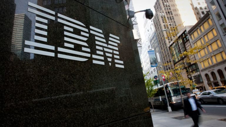 IBM Beats, Boosted By Software