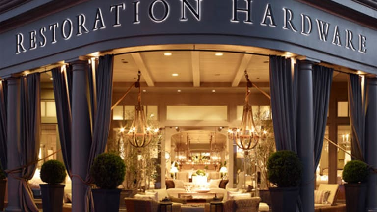 Restoration Hardware Plunges as Co-CEO Departs
