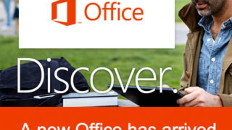 Microsoft Unveils Office for iPad