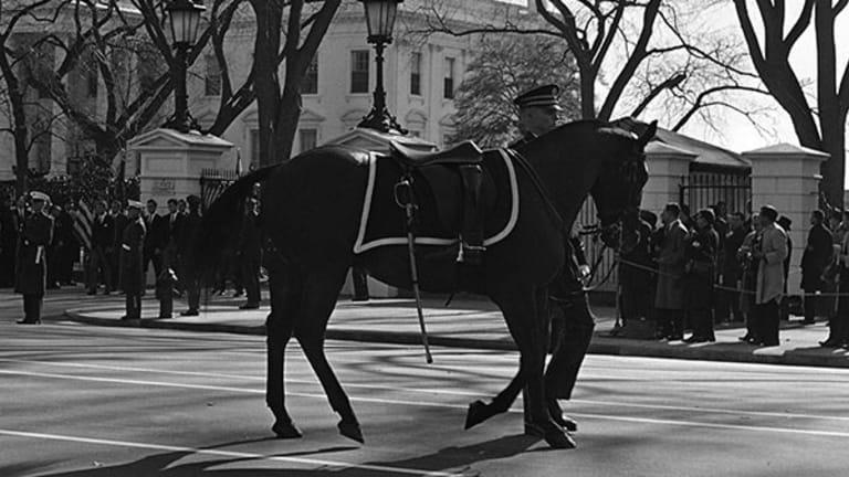 Fallen JFK Left Us Led by a Riderless Horse