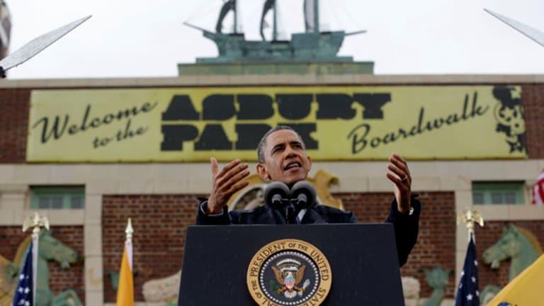 Move Over Springsteen, Obama Rocks Asbury Park
