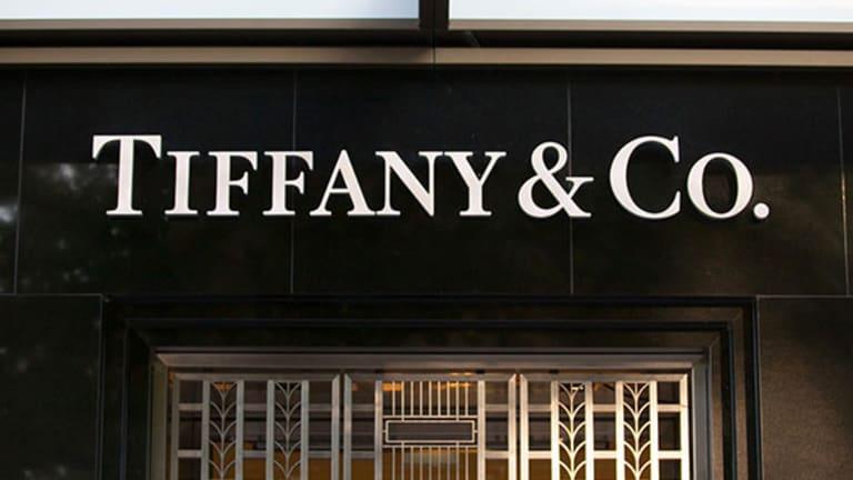 Tiffany Falls, Zale Jumps on Holiday Sales
