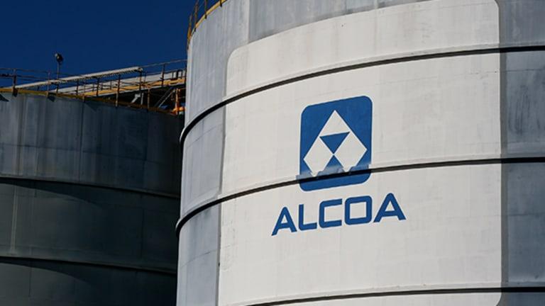 Alcoa (AA) Stock Slides, Planned Split Threatened