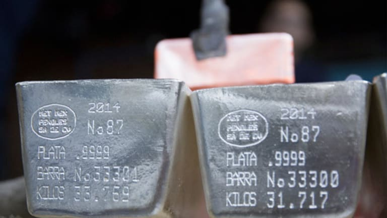 First Majestic Silver (AG) Stock Up as Silver Prices Rally