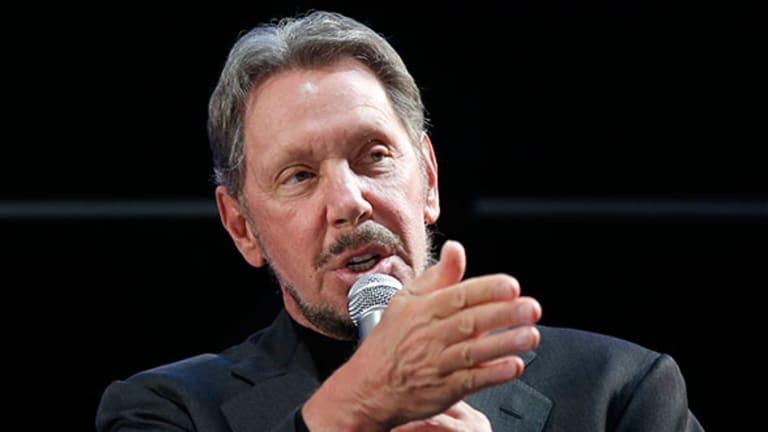 As Oracle's Cloud Business Grows, Ellison Throws Verbal Jabs at Rival Salesforce