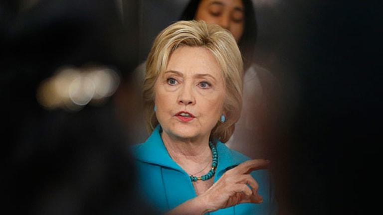 Hillary Clinton-Friendly Stocks Fall Ahead of Election Day