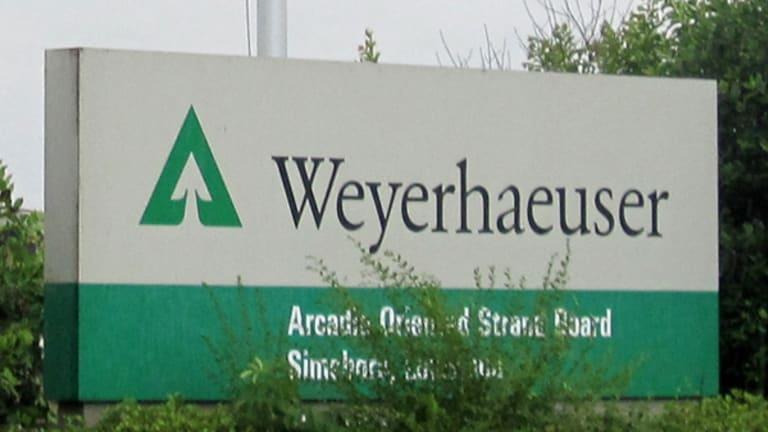 Weyerhaeuser (WY) Stock Climbs, Gets 'Buy' Rating at Goldman