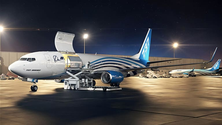 Take a Look at Boeing's New 737-800 Converted Freighter