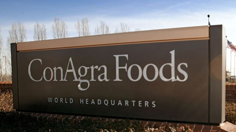 Jim Cramer: Will ConAgra's Earnings Vault Shares Higher?