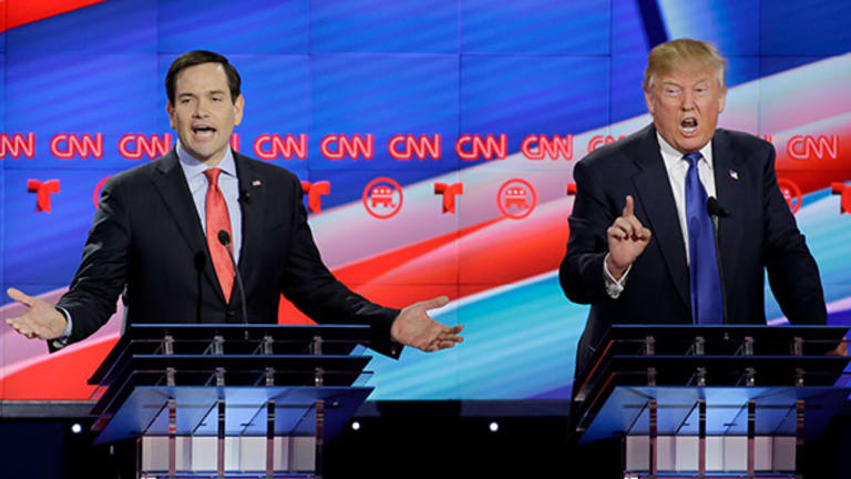 Marco Rubio Totally Dumped on Donald Trump at the GOP Debate