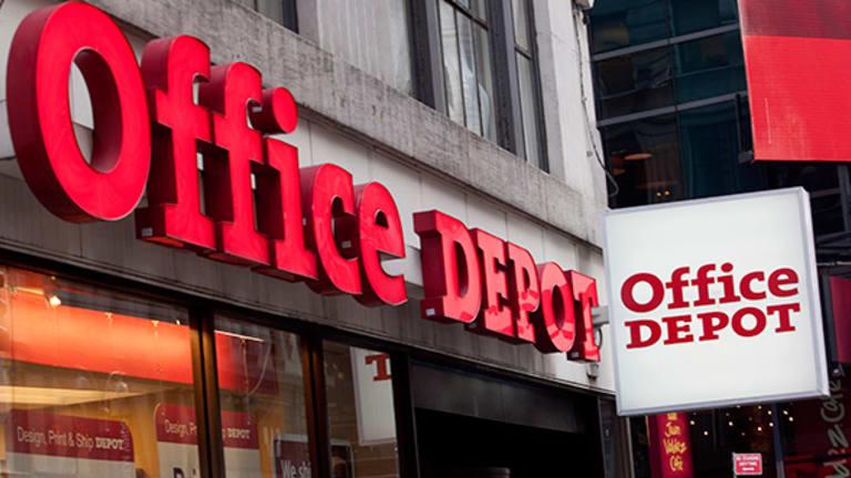 Office Depot (ODP) Stock Higher, Selling European Business