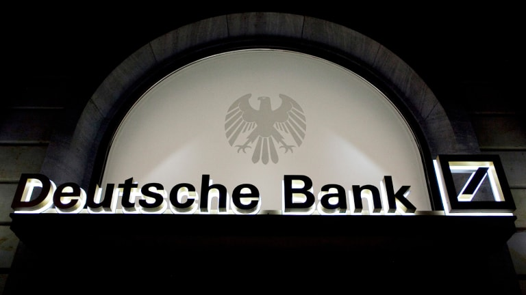 Traders Discuss Responses to Deutsche Bank Decline