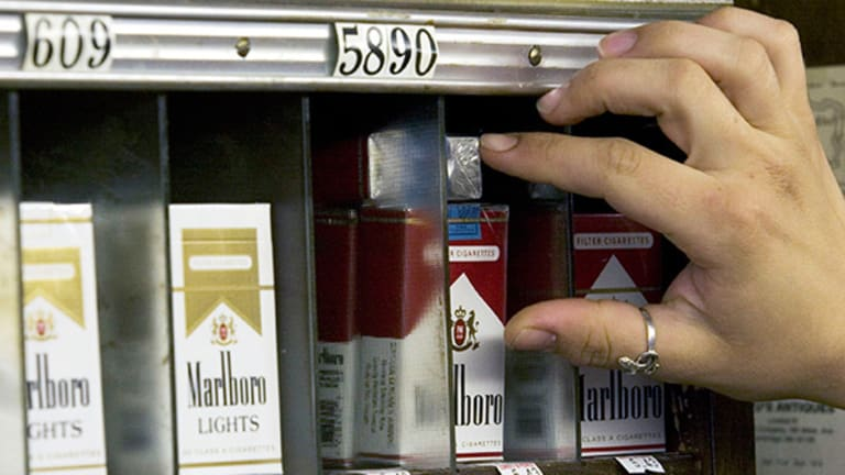 Jim Cramer's Off the Charts: Tobacco Stocks Are Smokin'