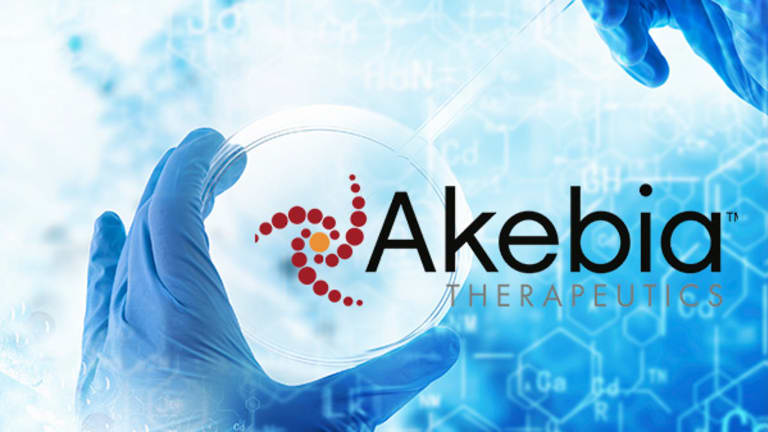 Akebia Funds Late-Stage Studies of Anemia Pill With Partnership for U.S. Commercial Rights