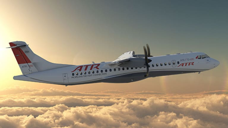 Aircraft Maker ATR Displays New Turboprop in Charlotte -- Is Cape Air a Buyer?