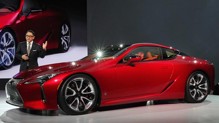 Toyota's Lexus Takes Wraps Off New Flagship Luxury SUV