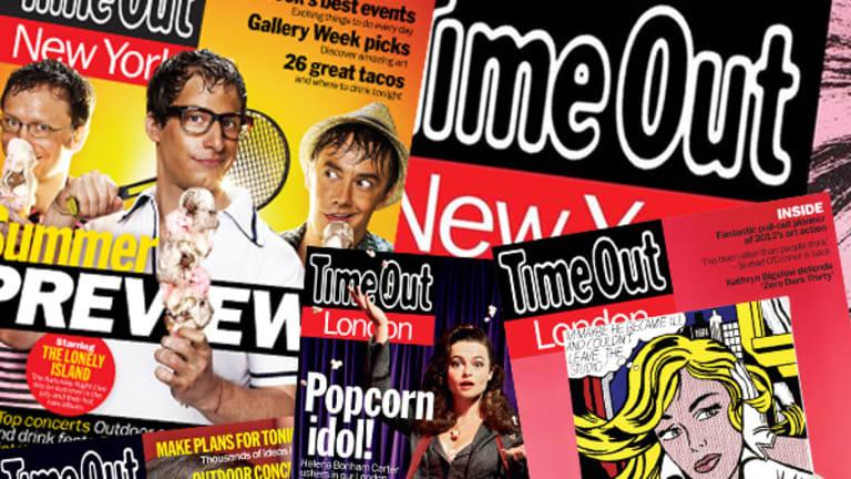 Time Out Entertains European, U.S. 'Market' Expansion