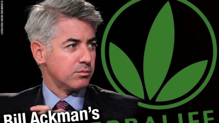 Herbalife shares drop in wake of latest Ackman-Icahn tussle