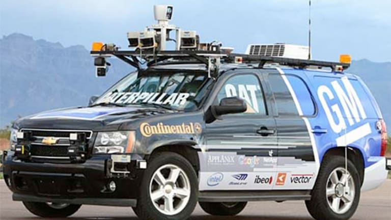 Your Guide to Making a Lot of Money on the Driverless Car Boom