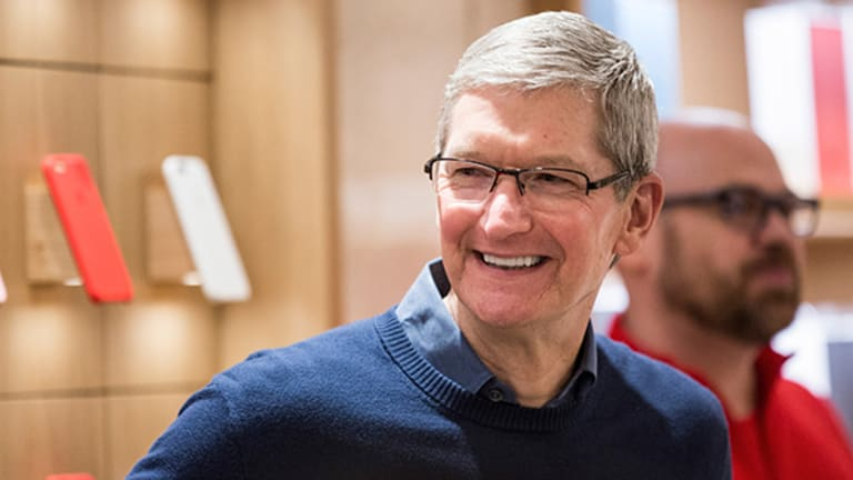 Apple Shares Climb, Cook Says Apple Pay Is Dominating -- Tech Roundup